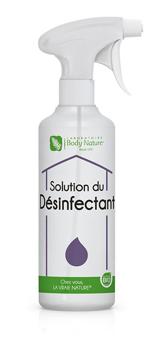 Flacon désinfectant Body Nature