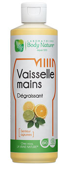 Vaisselle mains agrumes Body Nature
