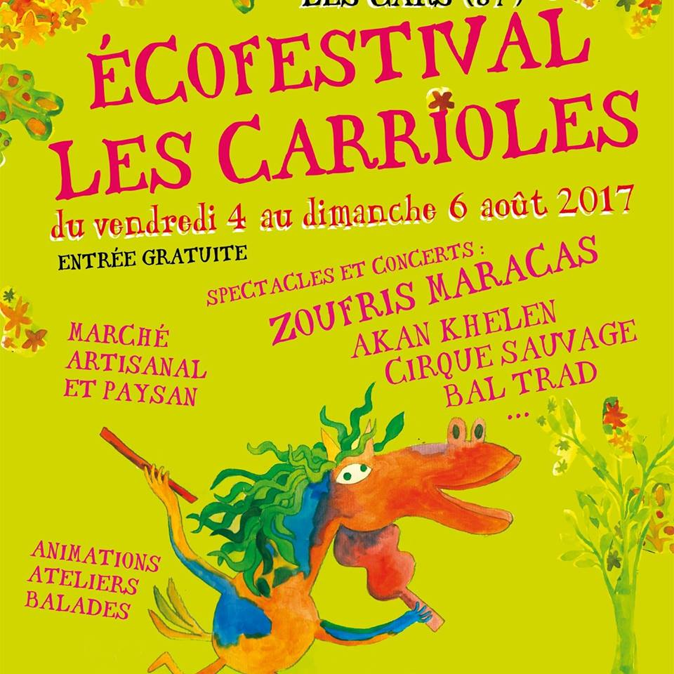 Festival les carrioles Body Nature