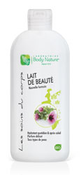 Lait de beauté Body Nature