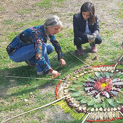 Atelier Land Art Mandala Nature