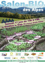 1er salon bio des alpes Body Nature