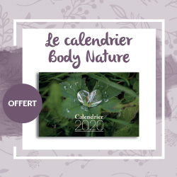 Calendrier 2020 Body Nature