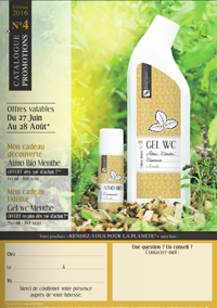 promo Body Nature juillet aout 2016