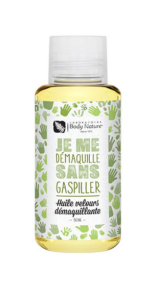 Huile velours demaquillante Body Nature