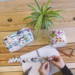 recyclage plastique upcycling