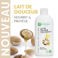 Lait de douceur ultra nourissant Body Nature