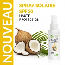 Spray solaire haute protection Body Nature