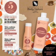 Catalogue promotions Body Nature
